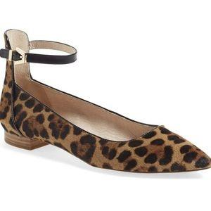 Louise et Cie Ballet Flat Leopard Calfhair 7.5